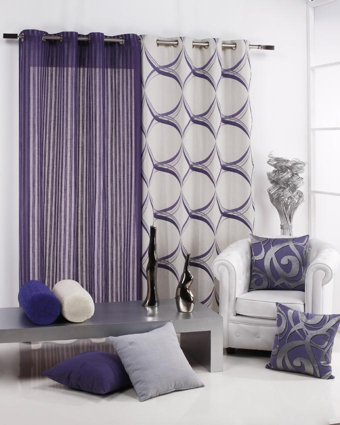 Decoraci n de las ventanas como transformar una estancia - Decoracion en cortinas para dormitorios ...