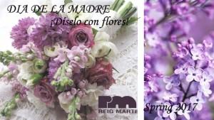 díselo con flores lilas