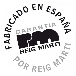 SELLO RM GARANTIA MADE IN SPAIN 800